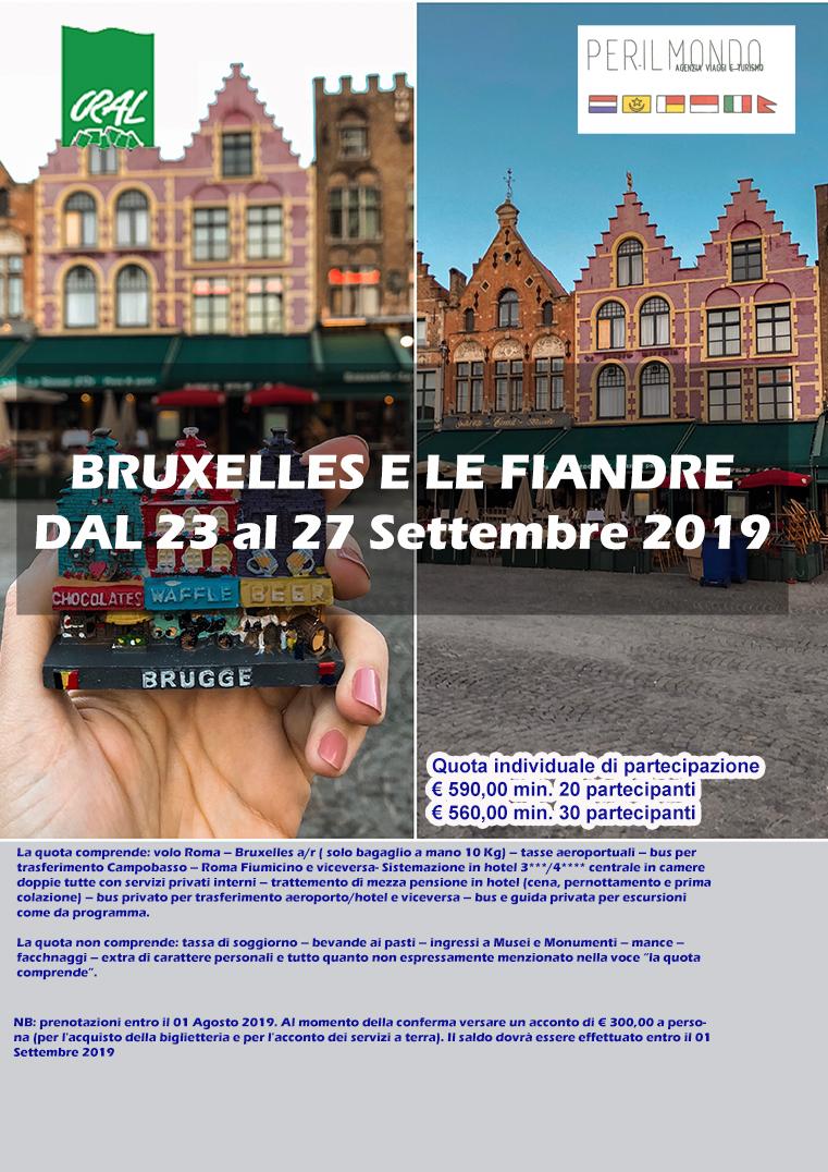 Bruxelles E Le Fiandre Dal 23 Al 27 Settembre 2019 Cral Regione Molise